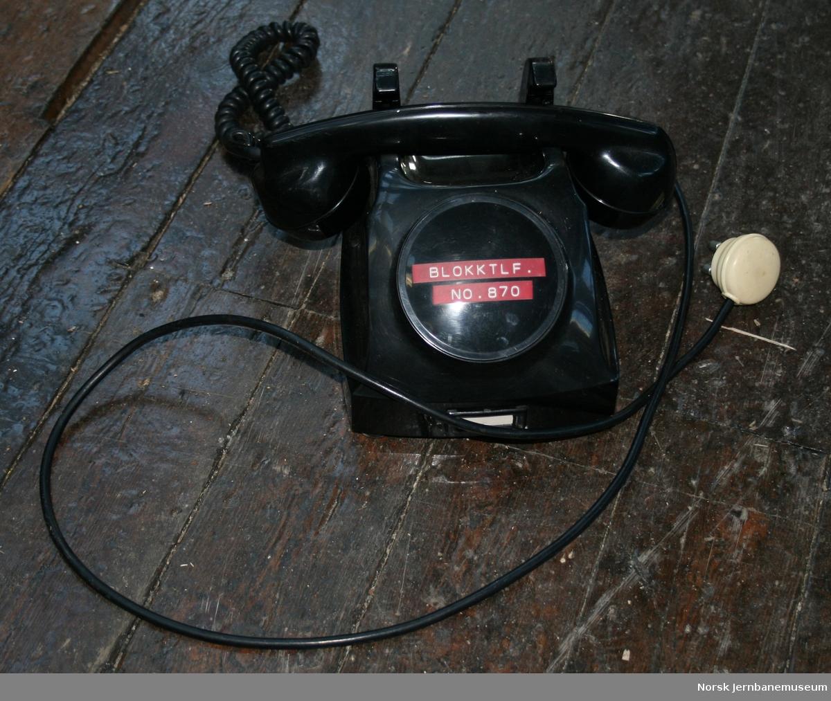 Telegrafverket modell 11AB12-3 nr. 1441320