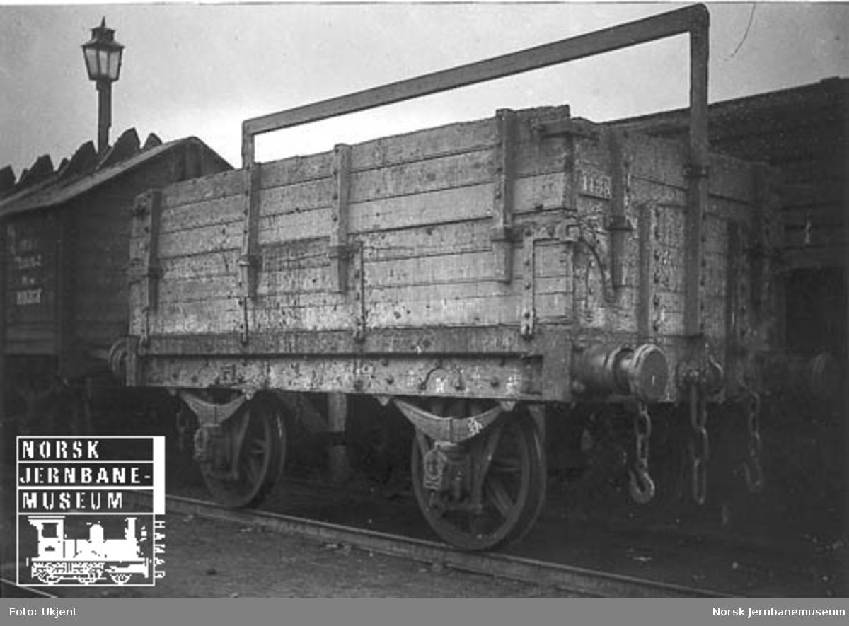Hovedbanens pudrettvogn litra L nr. 1438