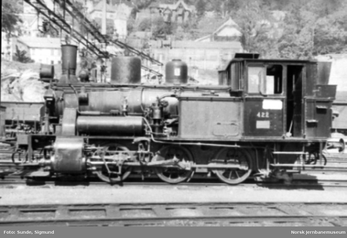 Damplokomotiv type 25d nr. 422