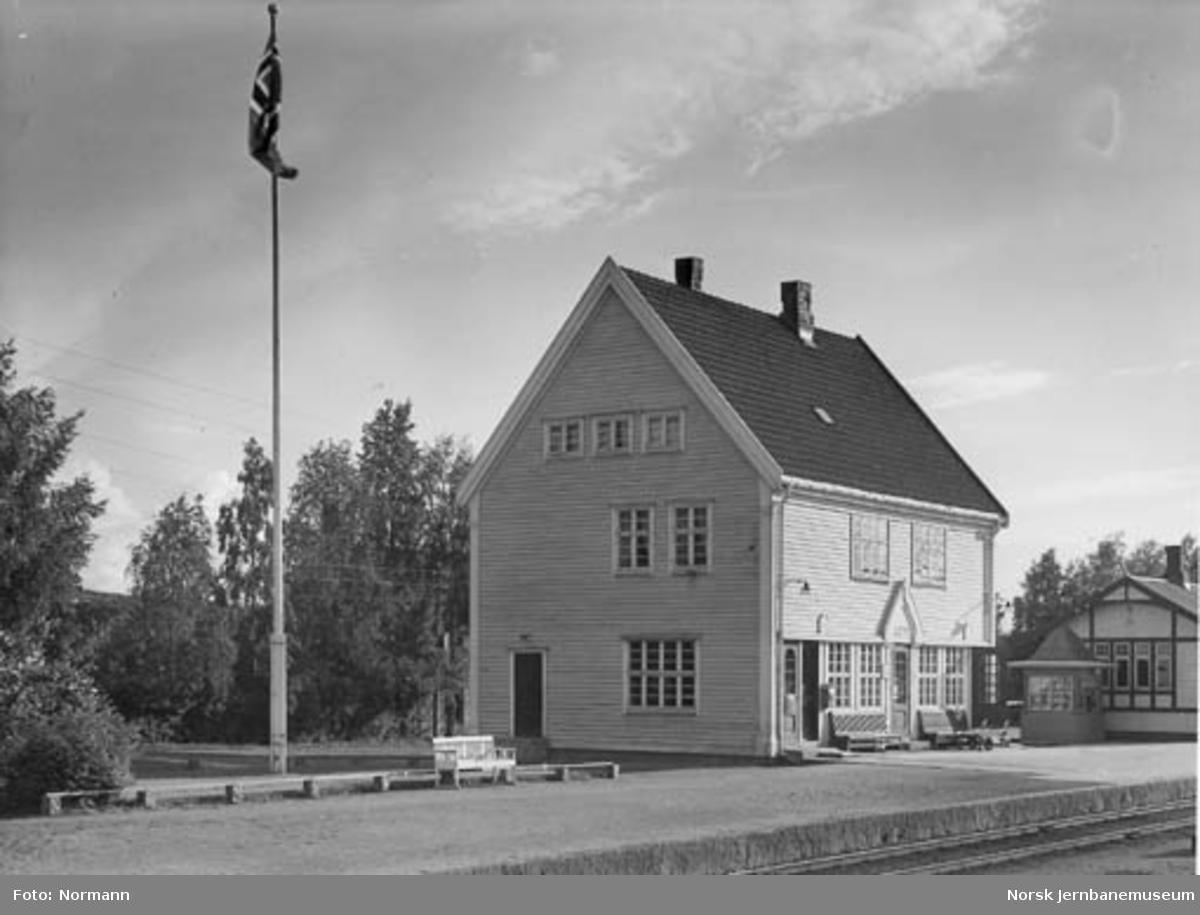 Lena stasjonsbygning