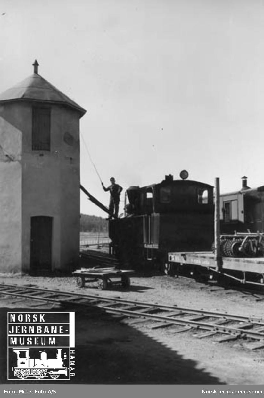 Med Aurskog-Hølandbanen fra Sørumsand til Skulerud : Bjørkelangen stasjon