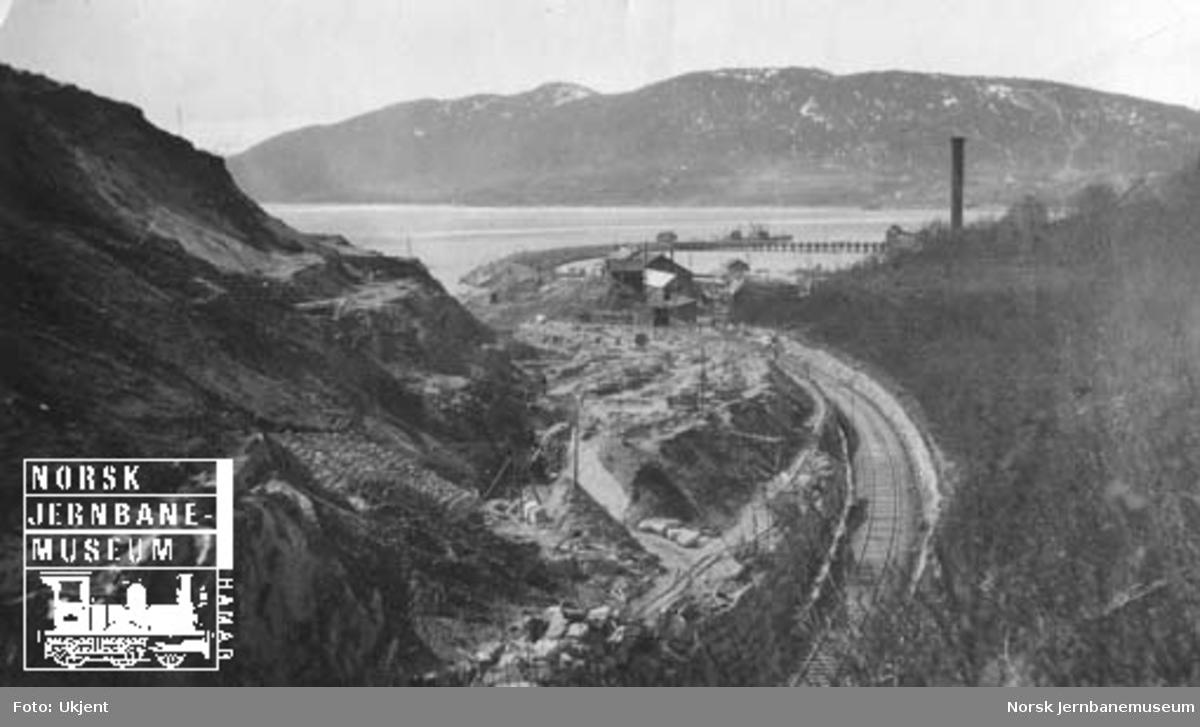 Dunderlandsbanen og anlegg for Nordlandsbanen i Gullsmedvikskjæringen