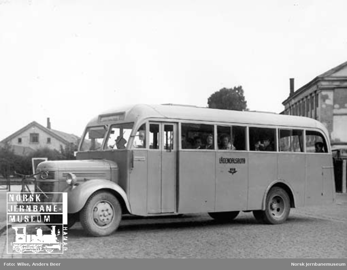 NSB Lågendalsrutens buss Z-1805