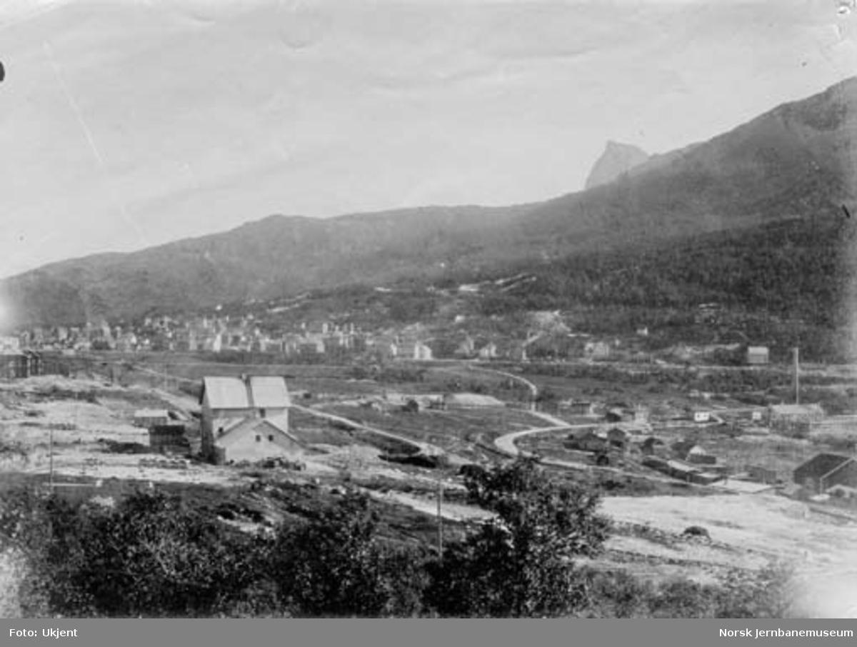 Oversiktsbilde fra Narvik