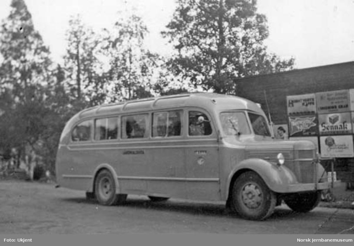 NSB Lågendalsrutens buss Z-1821, Volvo