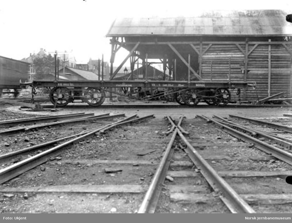 Plattformvogn litra Qt nr. 9902 til Bergensbanen