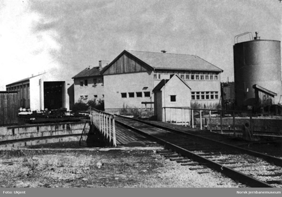 Sarpsborg stasjon : svingskiven