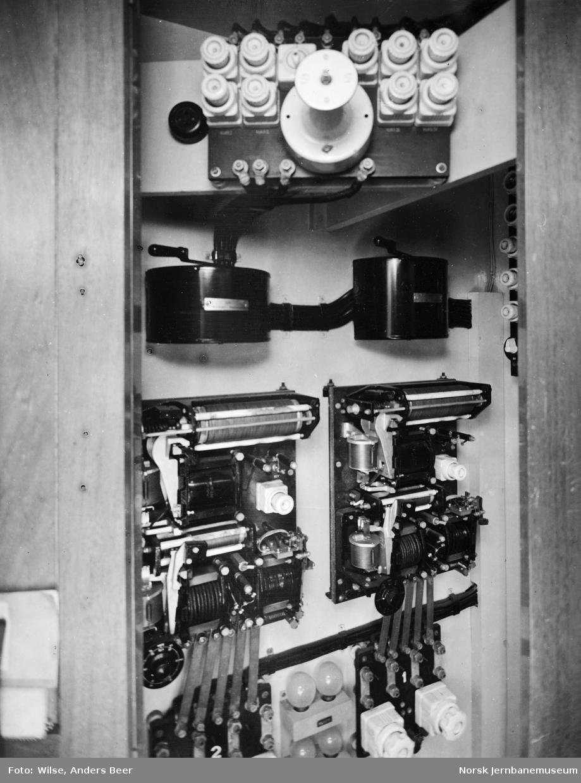 Apparattavle for vognbelysning i personvogn
