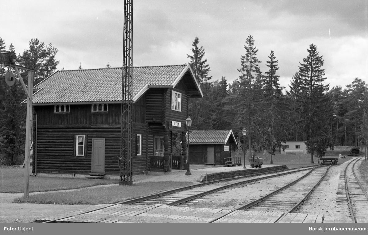 Jernbanemuseet med Bestum stasjonsbygning