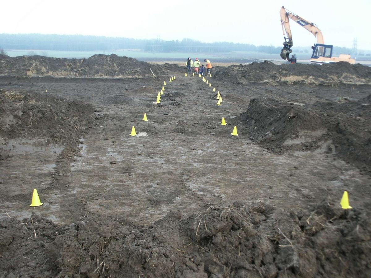 Arkeologisk undersökning, Lövstaholm, Gamla Uppsala 2003