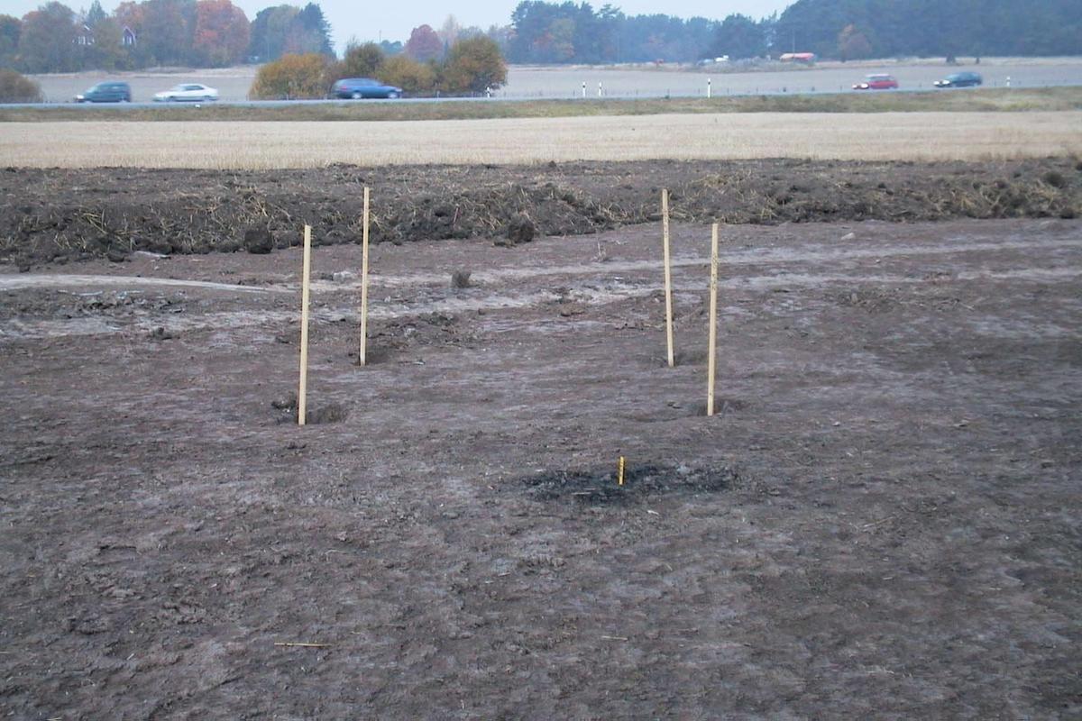 Arkeologisk undersökning, Danmarksby, Danmarks socken, Uppland 2000