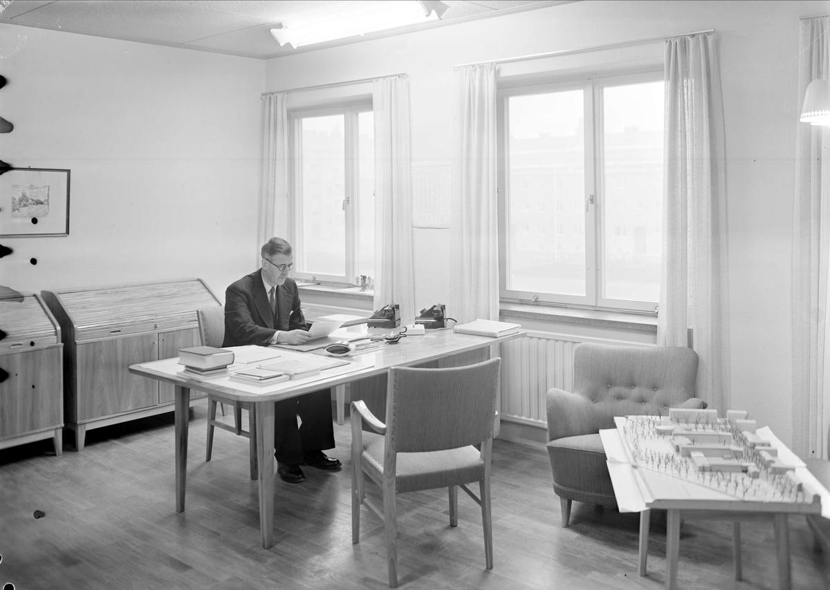 Man, Praktiska Mellanskolan, kvarteret Luthagsstranden, Uppsala