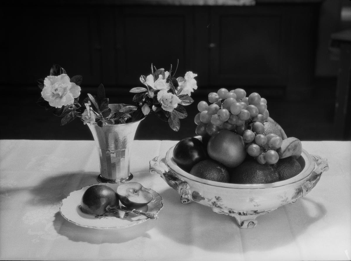 Matuppläggning, Fackskolan för huslig ekonomi, Uppsala februari 1932