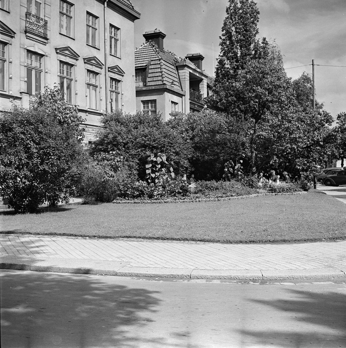 Bostadshus, Bangårdsgatan 2, kvarteret Kroken, Dragarbrunn, Uppsala
