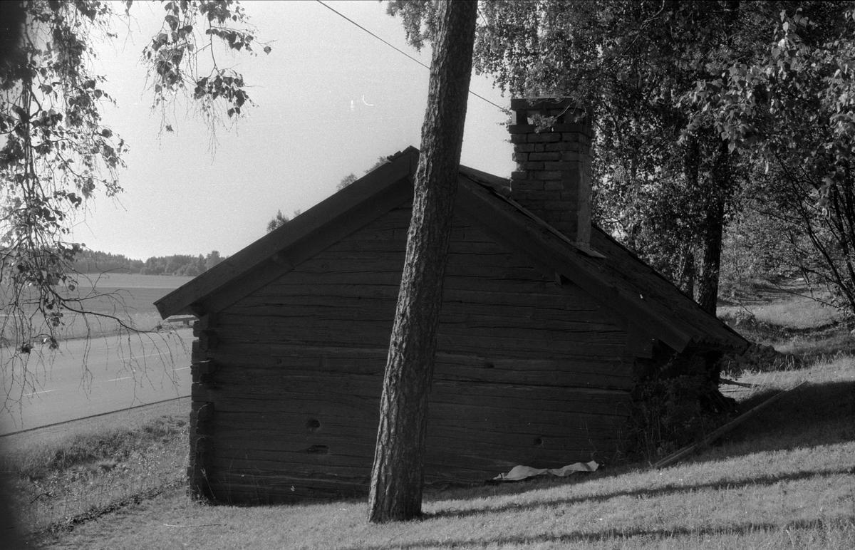 Smedja, Åsby 6:1 och 7:2, Björklinge socken, Uppland 1976