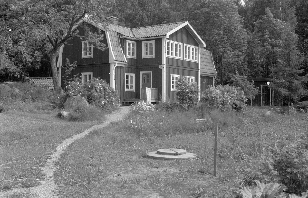 Bostadshus, Solbacka, Sundbro, Bälinge socken, Uppland 1983