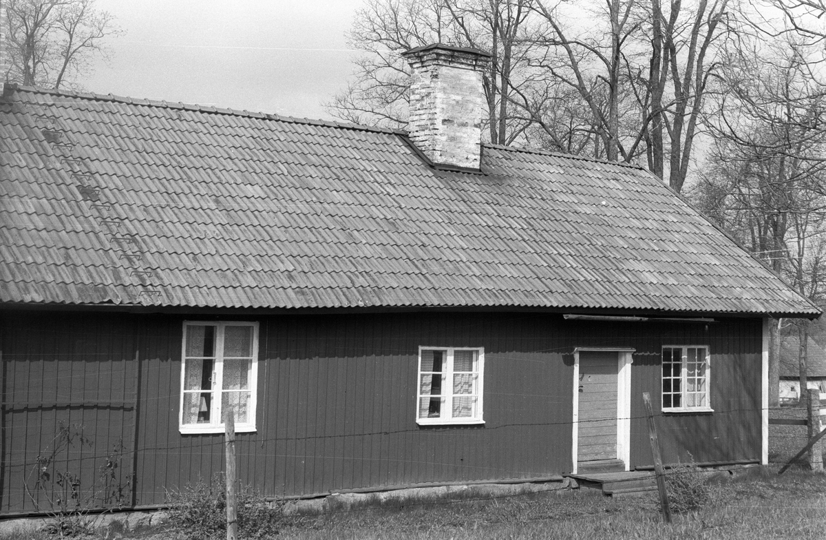Före detta statarbostad, Edshammar 10:1, Edshammar, Lena socken, Uppland 1977