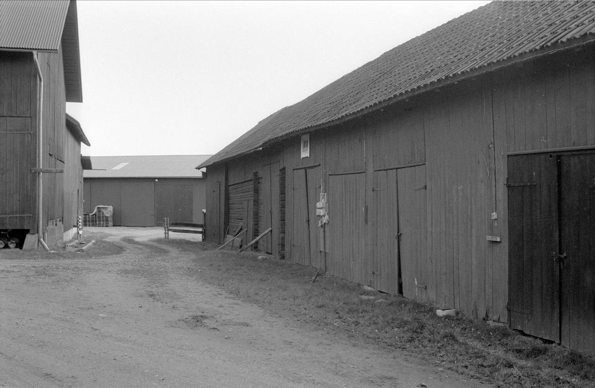Magasin/lider, Svartarbo 1:2, Bälinge socken, Uppland 1983