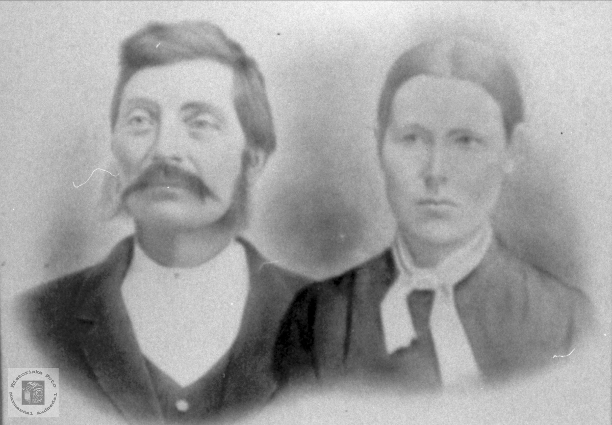Portrett av Knut K. Roland og Randi Håverstad.