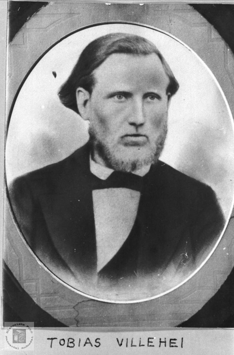 Portrett av Tobias Villehei, Øyslebø.