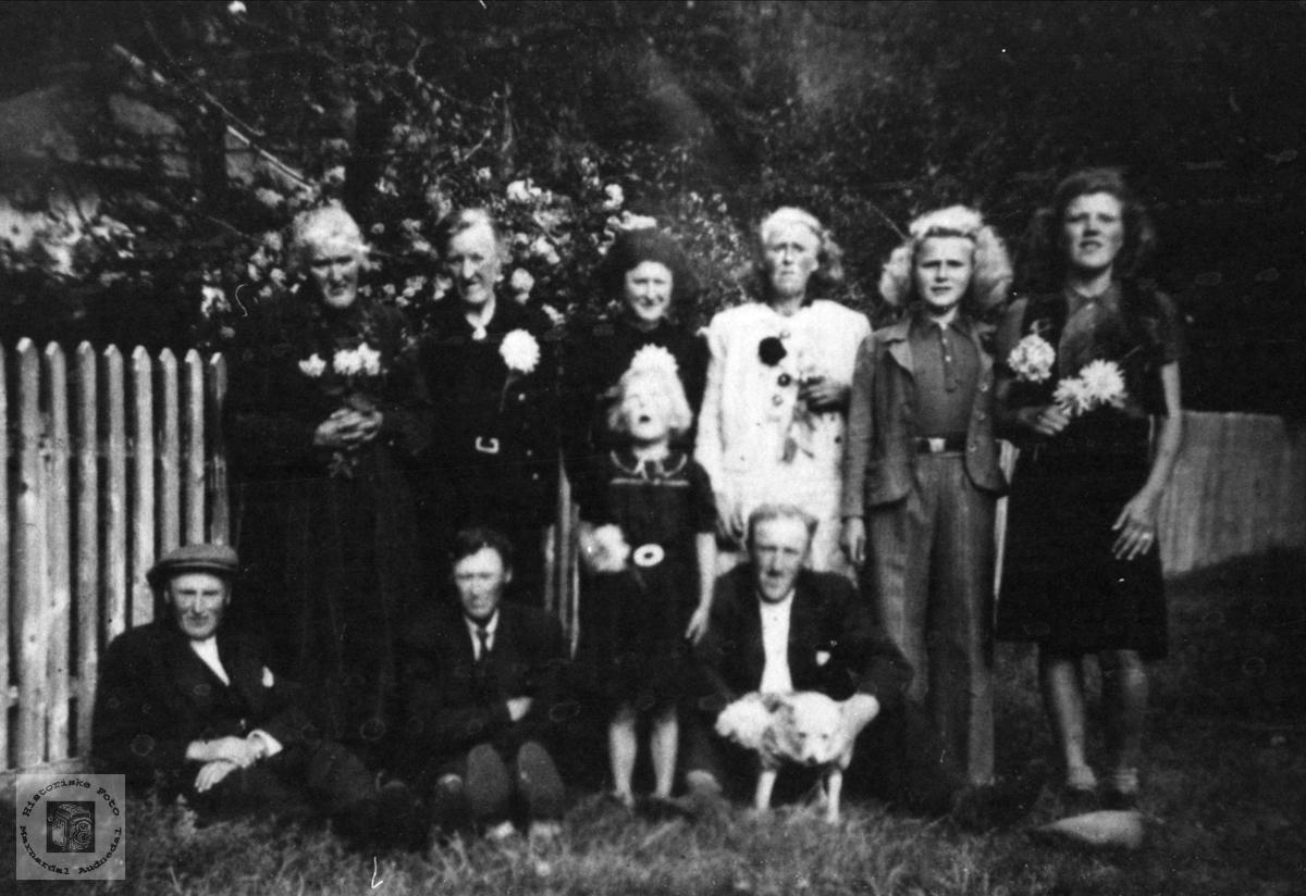 Familiegruppe Heddeland Jerstad.