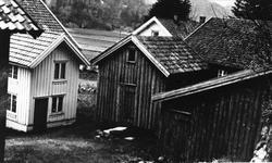 Inntun på Skjævesland i Øyslebø. Marnardal.