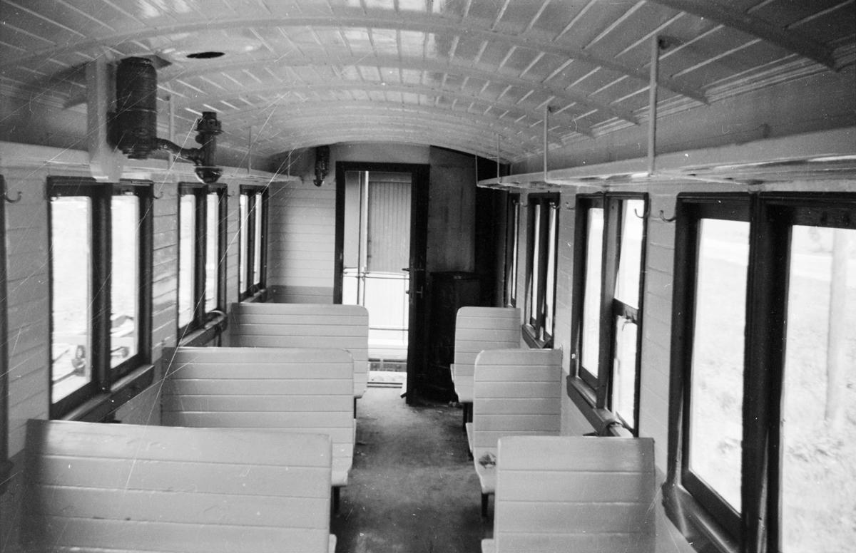 Interiør i personvogn Co 1