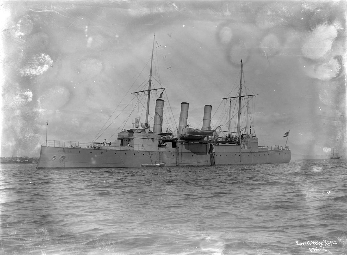 Frithjof (b. 1895, Karljohansvern verft, Horten), kanonbåt