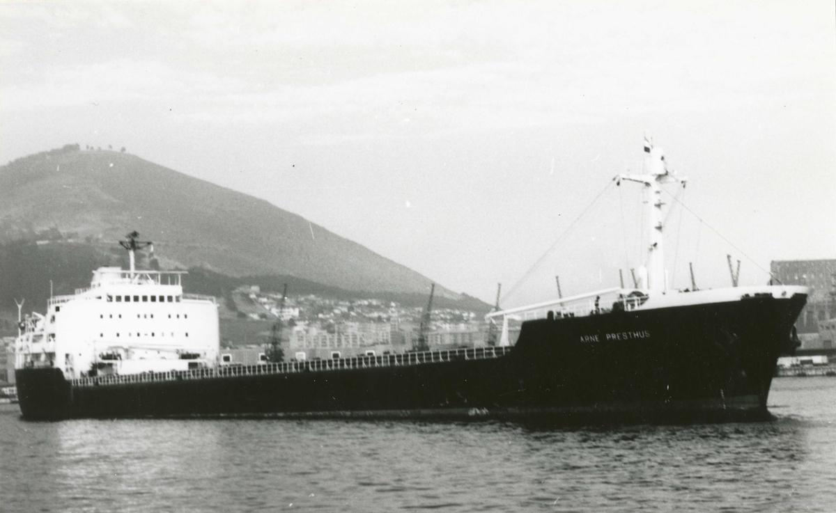 M/S Arne Presthus (Ex. Longwy)(b.1959, At. & Ch. de la Seine Maritime, Le Trait)
