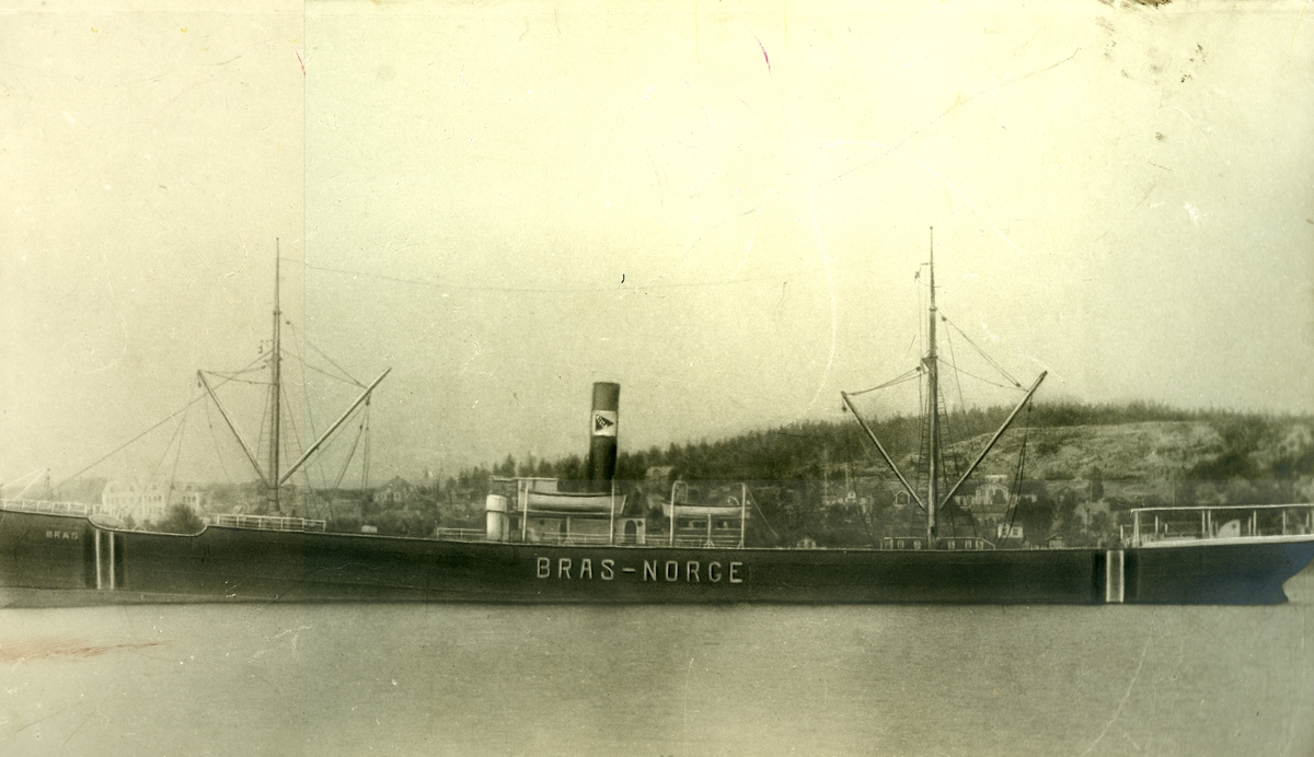D/S Bras (Ex. Felicia, Thurston)(b.1889, W. Gray & Co. Ltd., West Hartlepool)