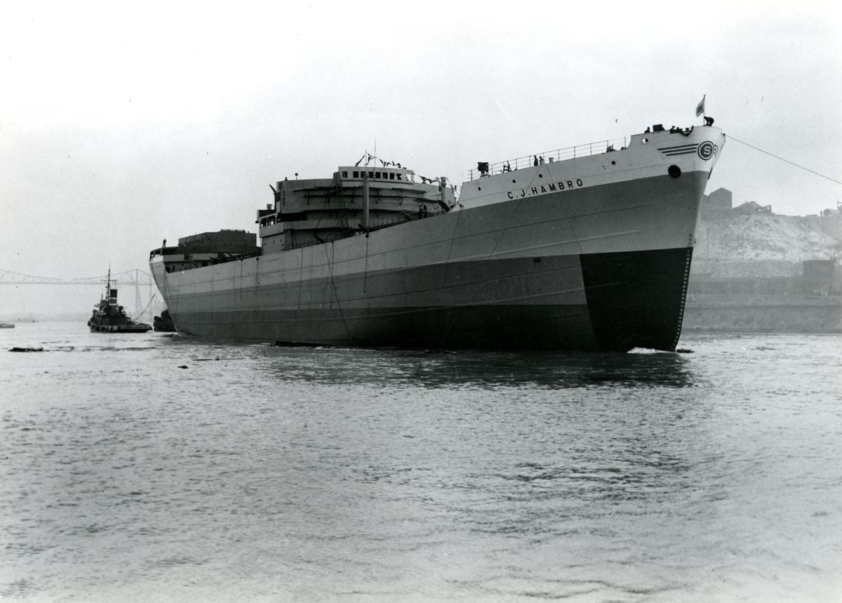 M/T C. J. Hambro (b.1949, Furness Shipbuilding Co. Ltd., Haverton Hill-on-Tees)