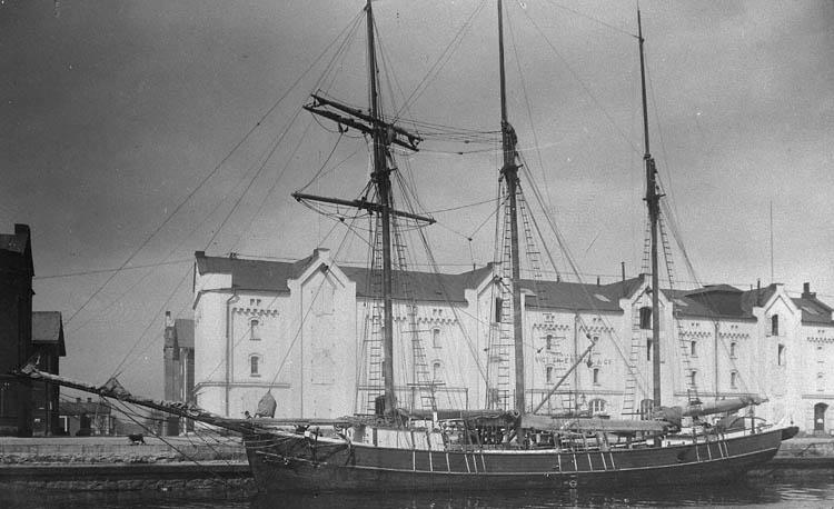 Fraktfartyget TÄRNAN i Gävle hamn