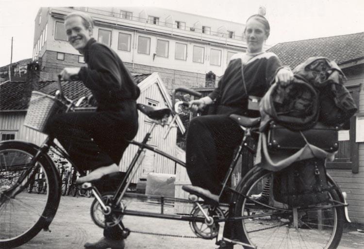 På tandemcykel i Bohuslän
