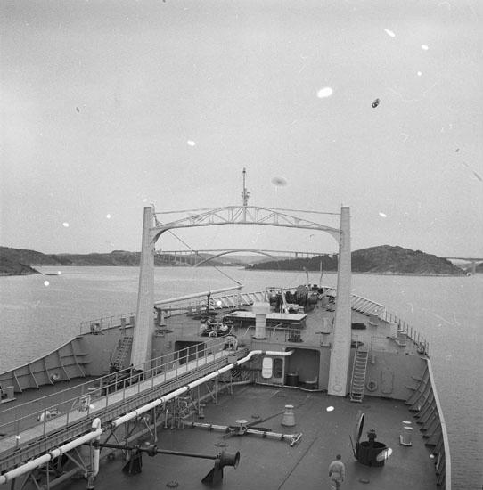 Provtur med fartyg 181 T/T Gulf Swede.