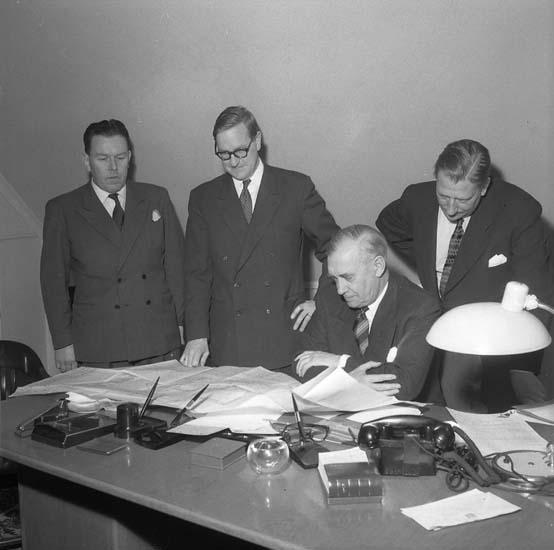 B. Söderberg, Sven Öbo, G. Thordén, B. Eriksson.