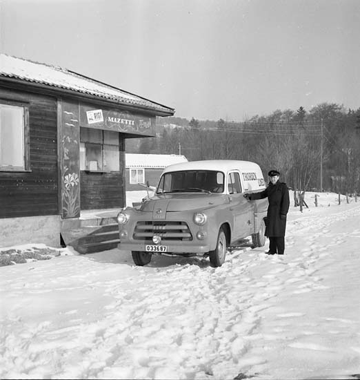Skåpbil, Thordén Lines