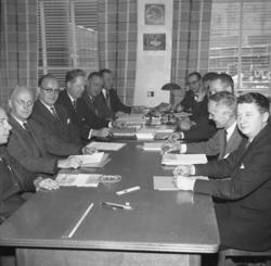 Möte med Uddevallavarvets produktionsavdelningschefer