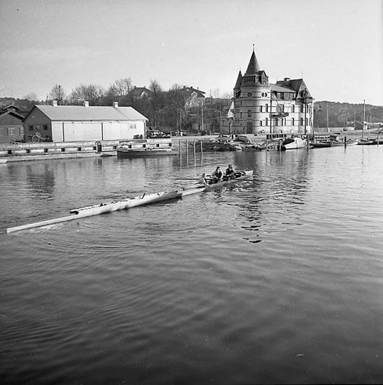 Uddevalla Roddklubbs nya båt