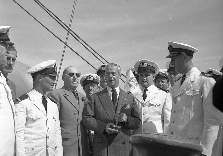 """Enligt notering: """"Överlämnande av Islas Malvinas Aug""""."""