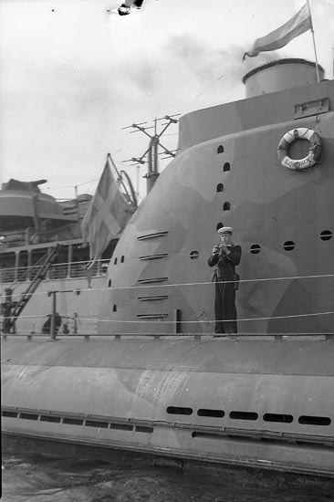"""Enligt notering: """"Ubåtsfartyg Juli""""."""