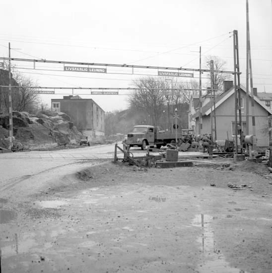 """Enligt notering: """"Västgötavägen d 8/12 -58""""."""