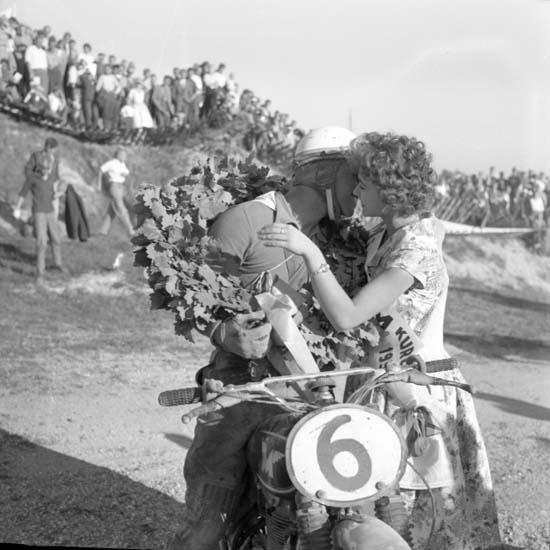 Segrare i SM Motocross på Kuröd i Uddevalla den 6 september 1959