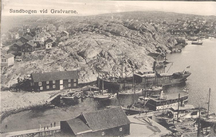 Stenlastning i Sandbogen vid Gravarne