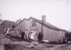 Rundbergska huset i Lysekil 1902