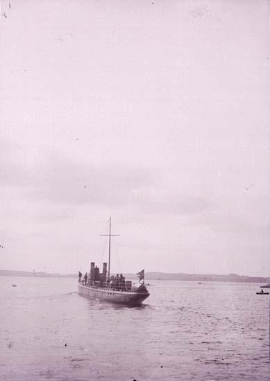 """Enligt text som medföljde bilden: """"Torpedbåten N.2 Aug 07."""""""