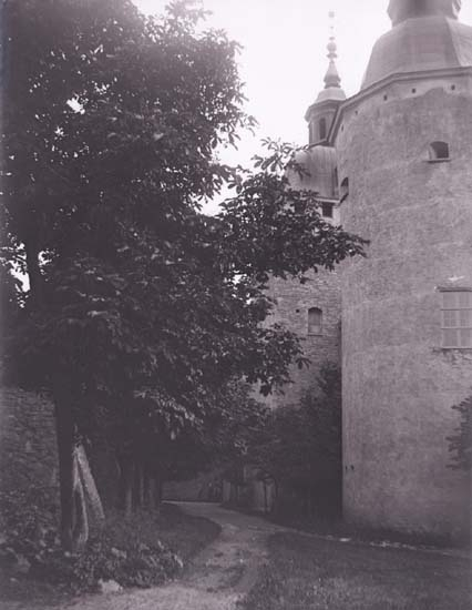 """Enligt text som medföljde bilden: """"Kalmar, Slottet."""" ::"""