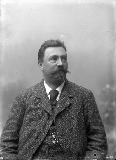 Konsul August Lysell.