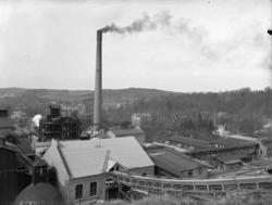 """Enligt medföljande noteringar: """"Munkedals fabrik. Observera"""