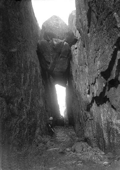 "Juli 1924. ""Kungsklyftan."""