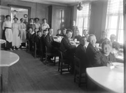 Matdags på internatskolan Gustafsbergs barnhus